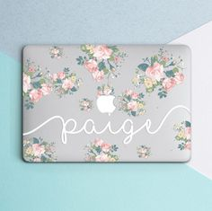 Buy Now Custom Name Personilized Macbook Case Macbook Air 13 Case Flowers Macbook Pro 15 Case new Macbook Case Floral Macbook 13 2016 Clear Mac Case by OhioDesignSpace. Macbook Pro Retina, Laptop Case Macbook, Mac Laptop, Laptop Bags, Laptop Decal, Laptop Backpack, Macbook Air 13 Pouces, Macbook Air 13 Inch, Coque Macbook