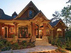 ranch style homes craftsman | American Craftsman Style House Ranch- Style House