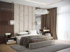 Un dormitorio que te transporta a una suite de hotel   Decoración