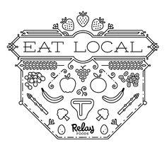 eat local font