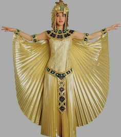 Cleopatra Costume - Egyptian Queen Costume, Adult Egyptian Costumes, Queen of the Nile Costume Cleopatra Costume Kids, Egyptian Goddess Costume, Cleopatra Dress, Cleopatra Halloween, Queen Cleopatra, Theatre Costumes, Adult Costumes, Halloween Costumes, Mummy Costumes