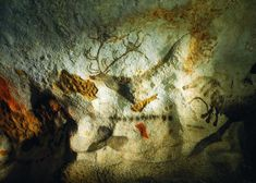 """The Lascaux cave In The Lascaux cave (Not the Lascaux Caves) was """" found"""" by four Périgourdin young boys (from Montignac). Montignac is situated in the Vézère Valley in the Département of Dordogne-Périgord. Cave Paintings France, Statues, Lascaux, Post War Era, Fairytale Castle, Dordogne, Beautiful Places In The World, France Travel, Ancient Art"""
