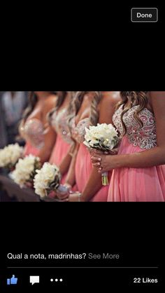 Beautiful bridesmaid dresses - My wedding ideas Wedding Wishes, Wedding Bells, Wedding Events, Our Wedding, Dream Wedding, Wedding Stuff, Fantasy Wedding, Destination Wedding, Wedding Photos