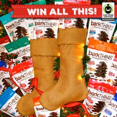 Want to #WIN a stocking stuffed with #FairTrade @barkTHINS? How about 2?! Hurry over & enter the #giveaway here: http://fairtrd.us/1NlvYgi #HappyHolidays  #GiveFair   #musthavebag