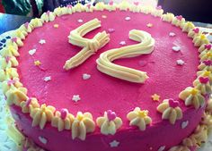 Forty-two Pink Cake