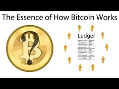 The Essence of How Bitcoin Works (Non-Technical) - YouTube