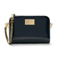 BIMBA Y LOLA Navy crossbody bag