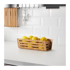 RIMFORSA Basket  - IKEA. fresh fruit in the pantry