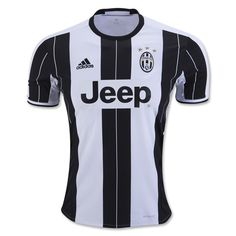 Juventus 2016/17 Home Men Soccer Jersey Personalized Name and Number