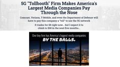 5G Tollbooth Firm Words To Use, Cool Words, Debt To Equity Ratio, Ways To Get Rich, Linkedin Page, Stock Companies, Stock Picks, Private Yacht, Parent Company