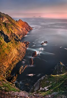 Skellig Islands - Co. Kerry, Ireland.