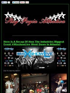 Che#MIXSHOWLIVE #MSL4ATL RECAP @OfficialCoreDJs @IAmTonyNeal @MixshowLiveLLC ☆★☆★☆STAY PAYIN ATTENTION☆★☆★☆ck out this Mad Mimi newsletter