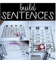 The First Grade Parade: Reading & Writing Simple Sentences