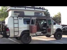 Sportsmobile 4x4 camper van :SEMA 2013 - YouTube