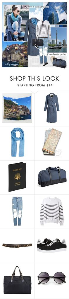 """My travel at toronto  I  love the  Canada"" by lovemeforthelife-myriam ❤ liked on Polyvore featuring MSGM, Barneys New York, Royce Leather, Rains, Topshop, FAUSTO PUGLISI, adidas, STELLA McCARTNEY and ZeroUV"