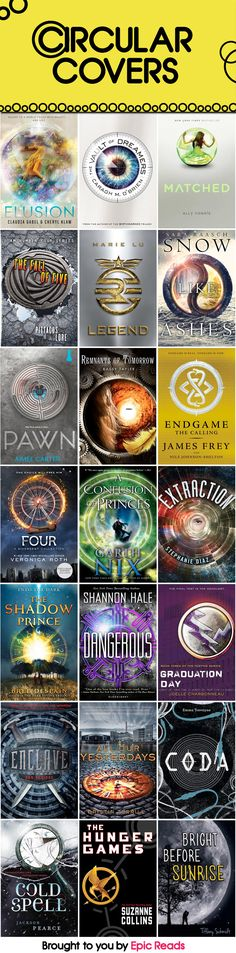 21 YA Circular Covers | Blog | Epic Reads
