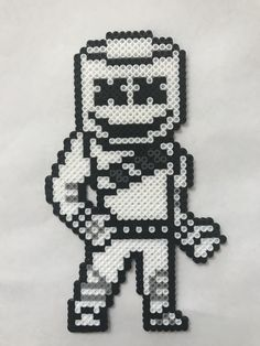 He don't need bandages Melty Bead Patterns, Pearler Bead Patterns, Perler Patterns, Pearler Beads, Fuse Beads, Beading Patterns, Perler Bead Designs, Perler Bead Art, Pixel Beads