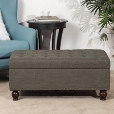 100  Farmhouse Themed Ottomans For Your Rustic Living Room! Discover the best farm home ottomans and oountry ottomans you can find anywhere. Round Tufted Ottoman, Ottoman Footstool, Ottomans, Stools With Drawers, Fabric Storage Ottoman, Farmhouse Living Room Furniture, Space Saving Furniture, Foot Rest, Dark Brown