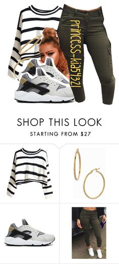 """*"" by princess-kia54321 ❤ liked on Polyvore featuring Bony Levy and NIKE"