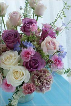 『【今日の贈花】新婚さんからお母さまへ♪』 http://ameblo.jp/flower-note/entry-11871627347.html