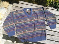 As New Mens Ladies Retro Pullover Jumper by FromParisToProvence, €29.00