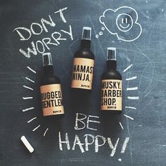 Don't Worry, Be Happy. Essential oils to make you happy