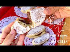 ΕΤΟΙΜΟ ΣΕ 10 ΛΕΠΤΑ, ΧΩΡΙΣ ΦΟΥΡΝΟ, ΧΩΡΙΣ ΒΟΥΤΥΡΟ: Μπισκότα μπισκότα, γεμάτα με Nutella - YouTube