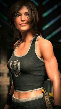 Tomb Raider Game, Tomb Raider Cosplay, Tomb Raider Lara Croft, Beautiful Christina, Jessica Nigri, How To Make Comics, Princess Mononoke, Illustration Girl, Fantasy Girl