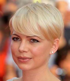 Michelle Williams Short Hairstyle  @Elizabeth Crust - this one?