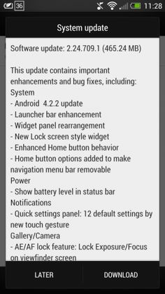 Android 4.2.2 hits international HTC One: HTC One owners living in Taiwan are among the first to see the newest release of Jelly Bean http://cnet.co/14NqMfv