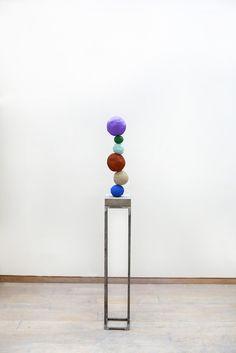 Annie Morris, 'Stack 6, Studio Purple', 2016