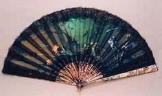 Vintage Fan: Evening by the River 1890 by CharmaineZoe, via Flickr