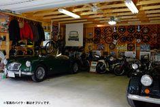 Garage Cafe, Motorcycle Workshop, Dream Garage, Decoration, Lamborghini, Room, Bike, Home Decor, Garages