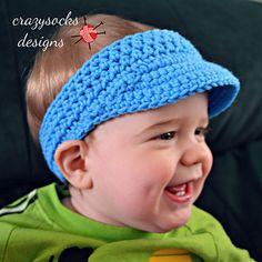 Golf Visor #crochet pattern by @Danyel Pink Designs