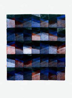 """Jo Enzweiler""""Olevano Romano"""", II 8, 1978, Gouache, 75 x 57 cm. Foto: Archiv Institut für aktuelle Kunst im Saarland"""