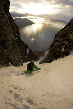 Senja, Norway skiing « Oskar Enander