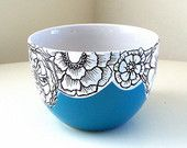 Ceramic Cups Sake Japanese Tea Hand Painted Scallops by  Design and color