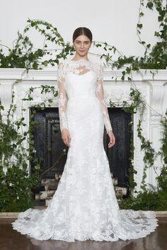 Monique Lhuillier Bridal & Wedding Dress Collection Fall 2018   Brides