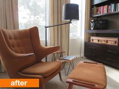 Before & After: $15 IKEA Hack Turns These Floor Lamps From Drab to Fab