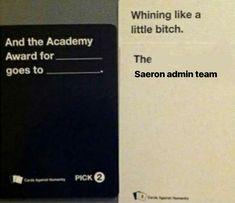 Best Rpg, Cards Against Humanity