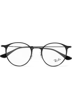 2b49832bcf Ray-Ban - Round-frame metal optical glasses