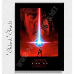 Тhe Last Jedi Star Wars Poster Star Wars Prints, Star Wars Poster, Star Wars Tshirt, Last Jedi, Daisy, Stars, Canvas, Movies, Movie Posters