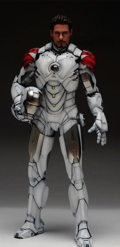 1/6 Iron Man Mark IV (Hot Toys) Custom Paint: Wallpaper Size Images | gunjap