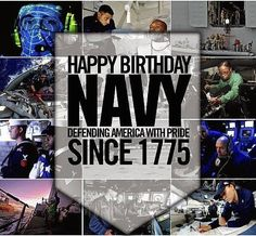 NAVADMIN - On the of October, the Chief of Naval Operations (CNO) released the Navy's birthday message commemorating the anniversary of the United States Navy on October Navy Mom, Us Navy, Chief Of Naval Operations, Navy Birthday, Military News, United States Navy, Birthday Messages, Pride, America