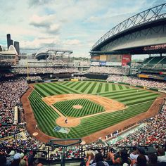 Safeco Field. Seattle Washington.  Home of the Seattle Mariners (MLB)