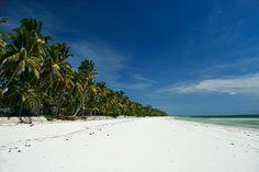 Bwejuu beach, east coast of Zanzibar island ... Africa