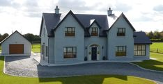 New Builds Kildare House Designs Ireland, Dormer House, Self Build Houses, Build Your Own House, Ireland Homes, Dream House Exterior, New Builds, Traditional House, Exterior Design