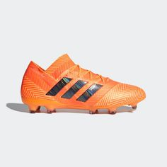 33187498e Advertisement(eBay) New Adidas Nemeziz 18.1 FG Size 8.5 Soccer Cleats  Orange Black DA9588