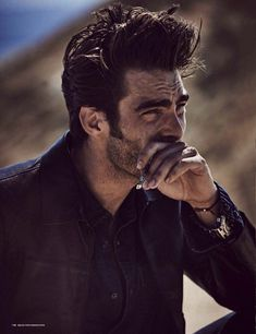 Jon Kortajarena Gets His Hands Dirty for GQ Germany