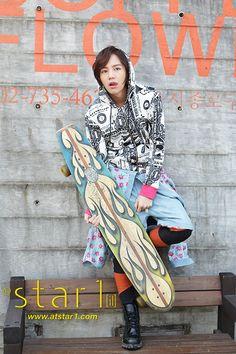 Jang Keun Suk - @ star1 Magazine March 2012